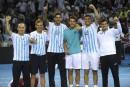 Finale de la Coupe Davis: «le rêve» d'un groupe uni, affirme l'Argentin Del Potro