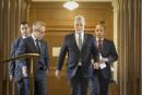 Le transfuge caquiste quitte le bureau du premier ministre