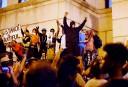 Violences à Charlotte: des manifestants dans les rues après le couvre-feu