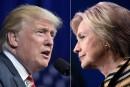 Forces et faiblesses de Clinton et Trump avant leur premier débat