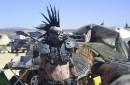 Bienvenue à Wastelands Weekend, où les adorateurs du film Mad Max se retrouvent tous les ans depuis sept ans dans un coin perdu de l'Antelope Valley, à deux heures de route au nord de Los Angeles. AFP