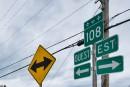 Circulation perturbée sur la 108: un accident fait quatre blessés
