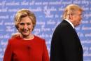 Trump-Clinton: après le débat, la course repart