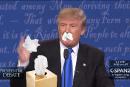Donald Trump renifle, c'est viral