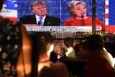 Cotes d'écoute: le débat entre Trump Clinton aurait battu un record