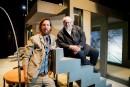 Emmanuel Schwartz et Denis Marleau: l'élève et le maître
