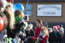 Initiation technologique d'une autre époque pour Kate et William au Yukon