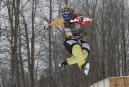 Appui unanime à la piste de patinage de descente extrême