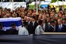Trudeau, Harper et Chrétien assistent aux funérailles de Shimon Peres