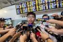 Joshua Wong,leader de la révolte des parapluies, expulsé de Thaïlande