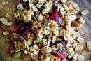 Quinoa et granola