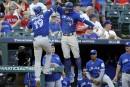 Les Blue Jays lessivent les Rangers