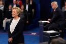 Clinton confortée par un débat inédit par sa violence