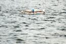 Traversée du lac Memphrémagog : Cloutier reconnaît l'ampleur du défi