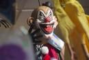 Le phénomène des «clowns sinistres» gagne le Royaume-Uni