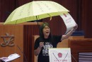 Hong Kong: entrée mouvementée au Parlement pourles élus «prodémocratie»