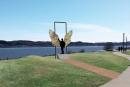 Une oeuvre d'art du Mexique sur la promenade Samuel-De Champlain