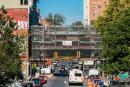 Trois mois de retard pour la réfection des arches du Quartier chinois