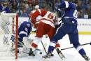 Le Lightning bat les Red Wings 6-4