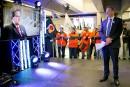 Des syndiqués s'invitent au 50eanniversaire du métro