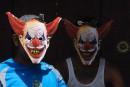 Deux adolescents déguisés en clowns avertis par la police<strong></strong>