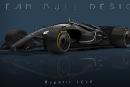 La F1 de l'avenir a l'air d'une Batmobile