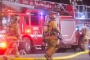 Incendie suspect à Brompton: le SPS ouvre une enquête