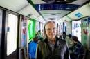 Robert Normandeau: dans le Tunnel azur du métro montréalais