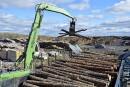 Conflit du bois d'oeuvre: Les Etchemins, zone sinistrée