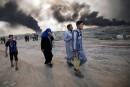 Mossoul: les civils victimesde la fumée des djihadistes