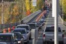 Pont Jacques-Cartier: pas de piste cyclable sur le trottoir