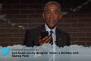 Barack Obama lance une flèche à Donald Trump à <em>Jimmy Kimmel Live</em><em></em>