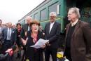 Train de passagers: le projet sur les rails