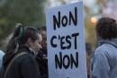Plusieurs centaines de manifestants dénoncentla culture du viol