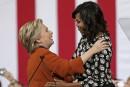 Michelle Obama et Hillary Clinton ensemble sur scène