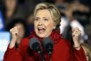 Clinton sort l'argument nucléaire pour répondre aux attaques de Trump