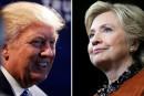 L'avance de Clinton sur Trump s'évapore