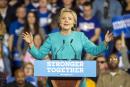 Clinton soulagée, à deux jours de la présidentielle
