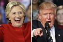 Clinton et Trump suscitent les paris chez Loto-Québec
