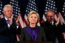 «Cette défaite fait mal», déclare Hillary Clinton