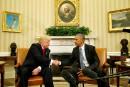 Trump «impatient de travailler avec le président» Obama