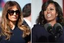 Michelle Obama reçoit Melania Trump à la Maison-Blanche