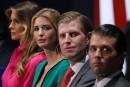 Les enfants Trump ne pourront pas être au gouvernement