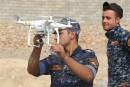 Les drones à grenades de l'EI