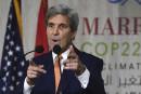 Climat: Kerry mise sur l'économie pour infléchir Trump