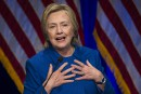 Clinton demande à ses partisansde ne «jamais abandonner»