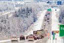 A-10: une poursuite policière entreprise en Montérégie se termine à Sherbrooke