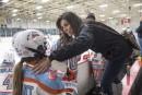 Manon Rhéaume n'a rien perdu de sa passion pour le hockey