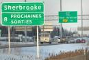 Un Ontarien accusé de délit de fuite sur l'autoroute 10
