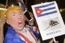 Trump menace de mettre fin au rapprochement avec Cuba
